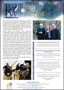 Briggs Piano Trio