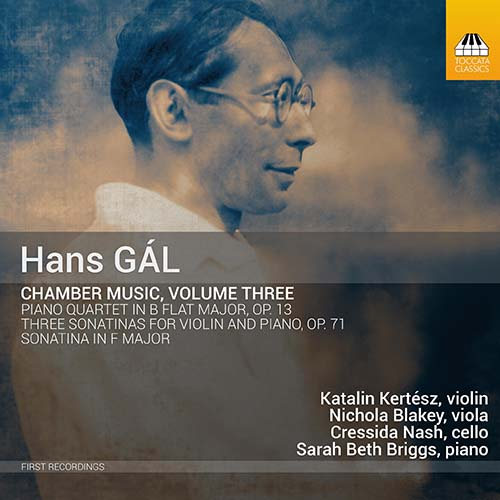 Hans Gal Chamber Music Vol 3 album cover