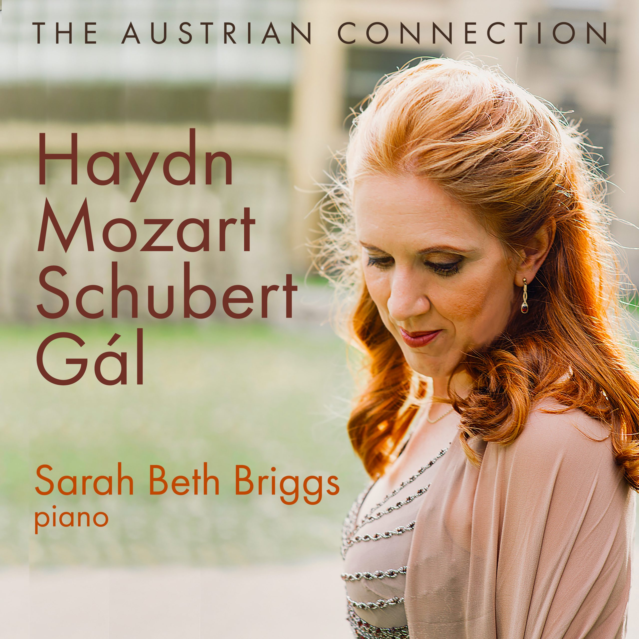 Sarah Beth Briggs The Austrian Connection album cover